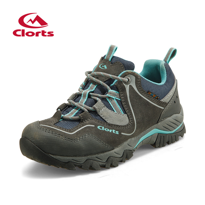 2017 Clorts Womens Hiking Shoes Waterproof Rock Climbing Outdoor Shoes Breathable Sports Shoes For Women Free Shipping HKL-826E clorts women trekking shoes outdoor hiking lace up shoes waterproof suede hiking shoes female breathable climbing shoes hkl 828d