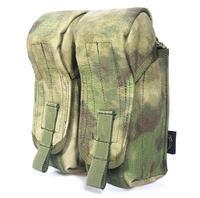 Genuine FLYYE MOLLE Dual AK Magazine Pouches In Stock Military Camping Modular Combat CORDURA M007