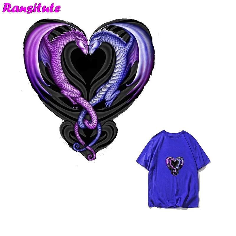 R286 Dragonheart Heat Transfer Heat Transfer Jacket Sweater Print Washable Heat Transfer Children DIY Decal Decoration Badge