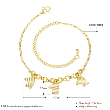 Wholesale New Fashion Women Fine Jewelry Woman Zircon Anklets Bracelet Female Foot Chain YMW-ZD085