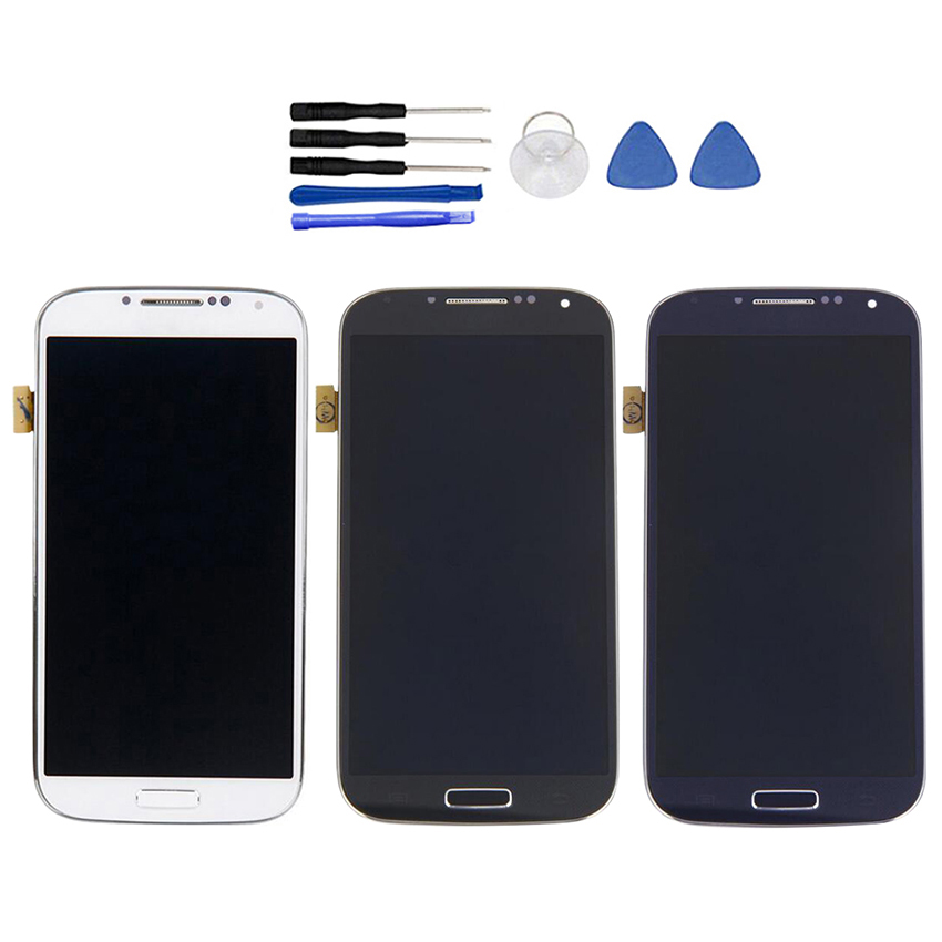 LCD Display Touch Screen Digitizer Frame For Samsung Galaxy S4 i337 M919 i9505 Brightness adjustableLCD Display Touch Screen Digitizer Frame For Samsung Galaxy S4 i337 M919 i9505 Brightness adjustable