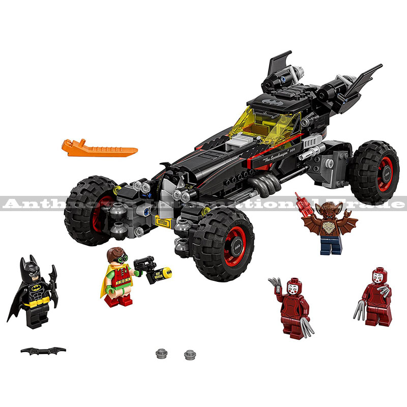 Lepin 07045 Super Heroes Batman The Batmobile building Blocks Gift Toys for children Bela Decool 70905 559PCS super heroes batman the scuttler building blocks new year gift diy figures toys for children compatible lepins 3d model