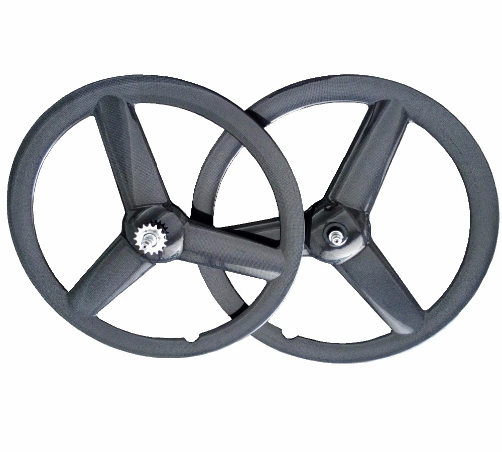 700C 23mm width tri-spokes road bikes carbon wheels 50mm depth clincher/Tubular for road/Track bicycle 3-spokes Wheelset цена