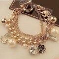 S39 CC № 5 марка brazaletes pulseras pulseiras mujer acessorios para mulher ювелирные изделия браслеты и браслеты 2016 для женщин