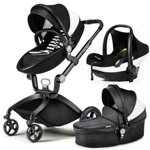 hot mom baby stroller high landscape can sit in the baby car portable baby trolley