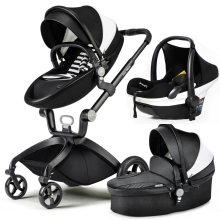 hot mom baby stroller high landscape can sit in the baby car portable baby trolley suspension folding