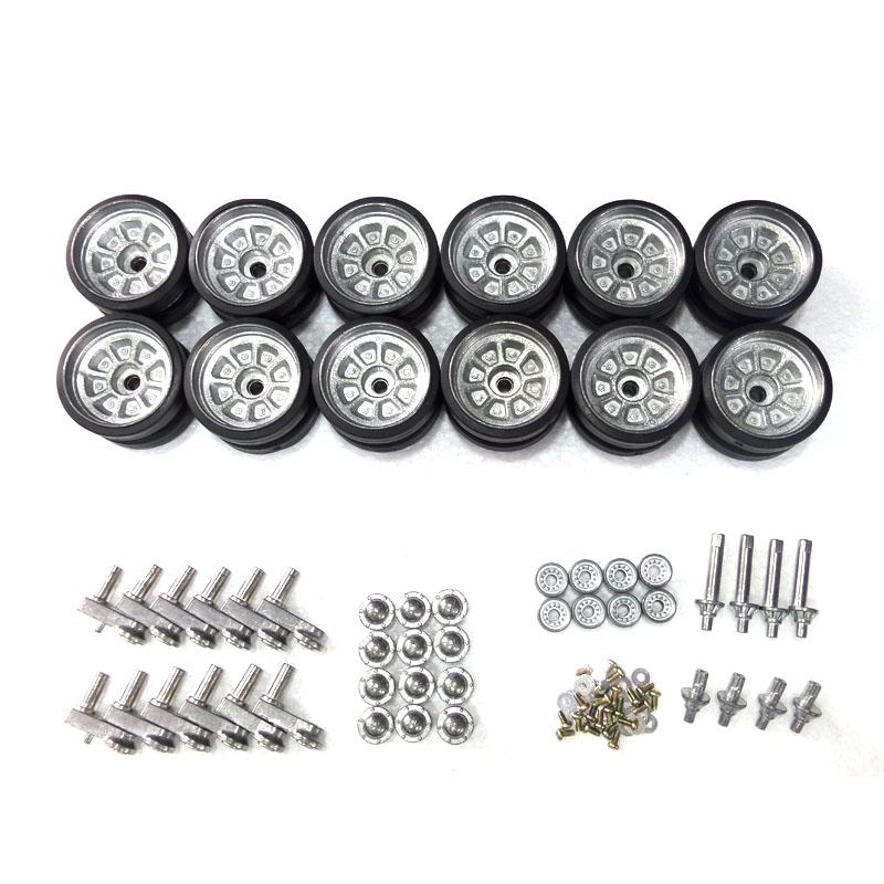 henglong 3899 China Army T99 1:16 RC tank upgrade parts metal wheels hub set henglong 3869 3879 3888 3899 rc tank 1 16 parts steel drive system driving gear box free shipping