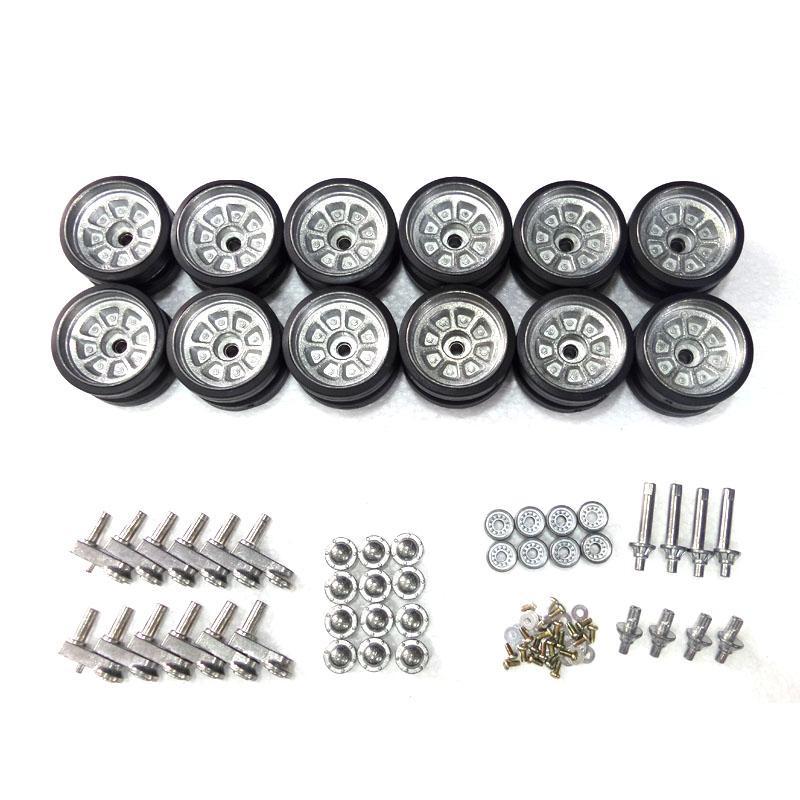henglong 3899 China Army T99 1:16 RC tank upgrade parts metal wheels hub set все цены