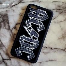 Arsmundi font b 2018 b font NEW acdc logo Phone Cases for font b iPhone b