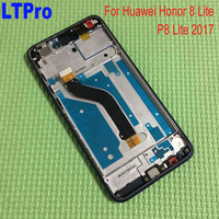 100 Tetsed Working Frame LCD Display Touch Screen Digitizer Assembly For Huawei Honor 8 Lite Phone