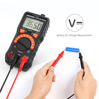 Digital Multimeter True RMS Non Contact Voltage Multi Meter DMM Voltmeter Ohmmeter Measuring Tester with LCD & Flashlight