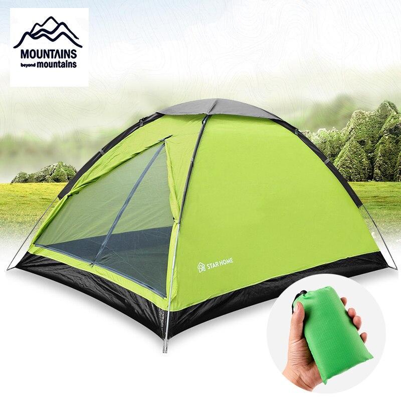 Activity Gift Beach Mat Double Tent Outdoor Camping Beach Sunshade Ultralight Tent