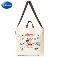 Disney Women Mickey Mouse Lady Bag Large Capacity Hand Bag Fashion Girls Cartoon Shoulder Messenger Crossbody Plush Backpack