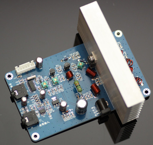 DIY 15W PLL Digital LCD Stereo FM broadcast Transmitter PCB Kit Suite power frequency volume adjustable