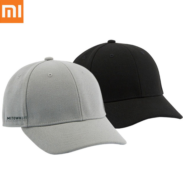Xiaomi MITOWN LIFE Baseball Hat Adjustable Metal Buckle Men Cap Cotton  Sweat Absorption Stereoscopic Sporty Hip Hop Cap H20 084f1967ae3