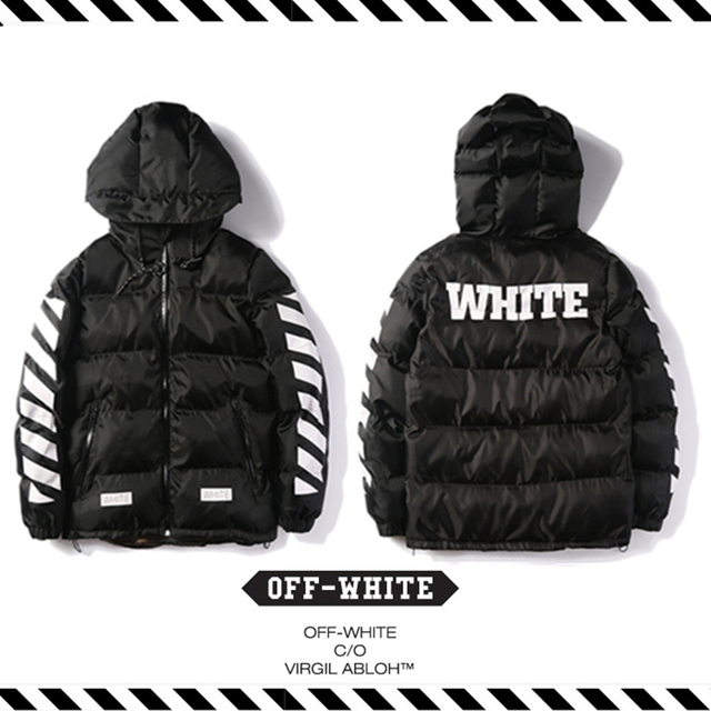 6caa226290ca Best Version New Arrival 2016 Fall Winter Off White Warm Down Jacket  Camouflage Green Striped Long Sleeved Mens Parkas Coat