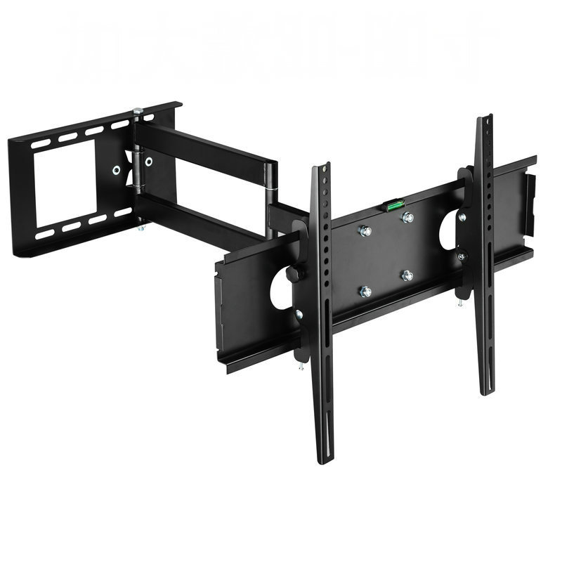 universal full motion tv wall mount retractable tv bracket. Black Bedroom Furniture Sets. Home Design Ideas