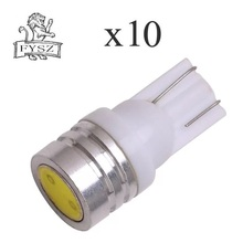 10Pcs T10-1w high-power automotive LED W5W 194 door light reading white