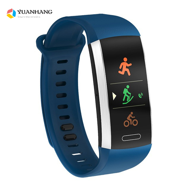 GPS Smart Band IP68 Waterproof Sports Watch Wristband Multiple sports Heart Rate Monitor Call Reminder Smartband for IOS Android цена