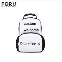 FORUDESIGNS Large Women Custom Backpack,Customizab Print Backpacks for Ladies,Female Travel Backpack Teenage Girls Back Pack