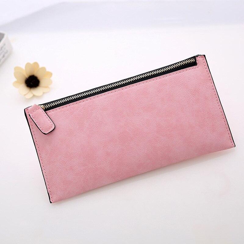 eTya New Fashion Women Wallets Scrub Leather Zipper Female Clutch Credit Card Holders Girl Women's Long Coin Purses Handbags