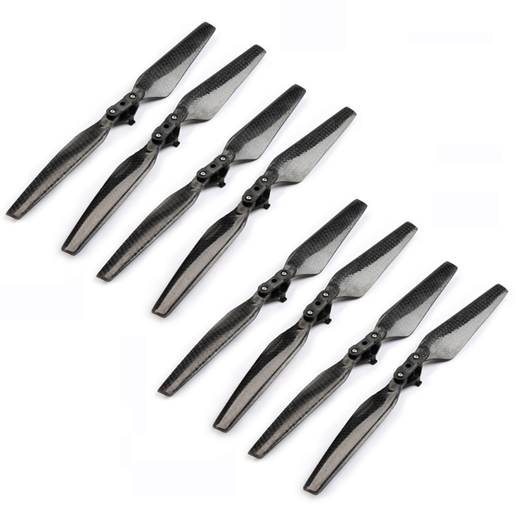8pcs Carbon Fiber 8330 Propeller Props Folding Quick Release Blades For DJI Mavic Pro Drone Spare Parts Replacement Accessory replacement spare parts beater blades