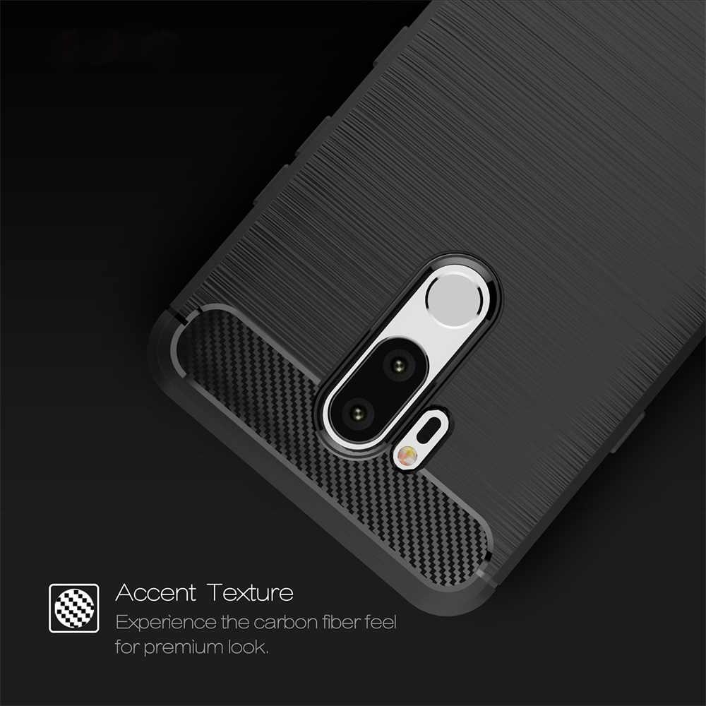 מקרה עבור LG K9 K8 Stylo 4 G7 G6 Q6 Q7 V30 V30S V40 ש Stylus K10 2018 עמיד הלם פחמן סיבי TPU טלפון Case כיסוי מעטפת קאפה