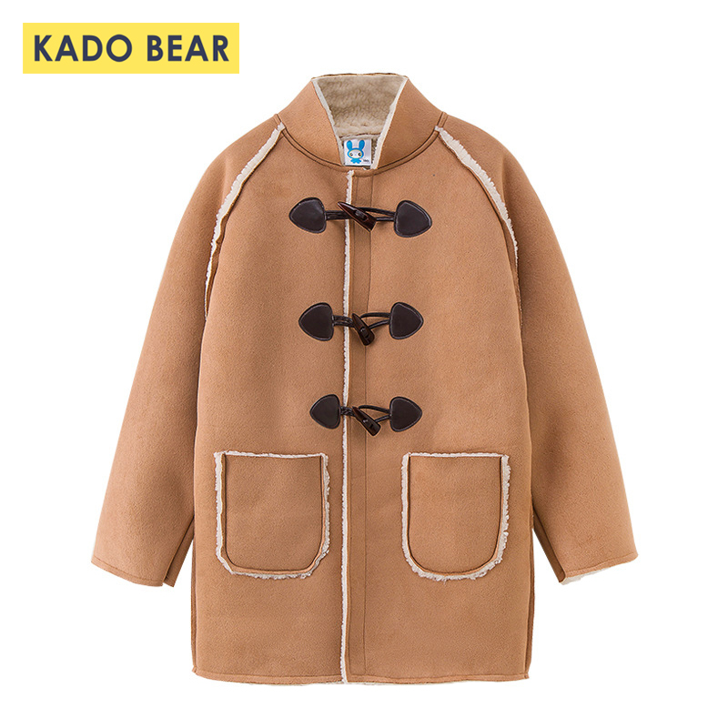 cfbee1c19 2018 Baby Girl Winter Clothes Kids Fur Long Coat Girls Jackets ...