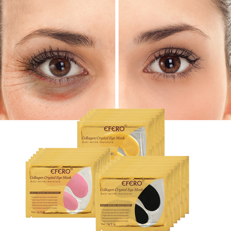 Eye Patch Gel Mask Collagen Eye Mask Protein Sleep Patches Remove Dark Circles Eye Bag Moisturizing Anti aging Eye Care in Creams from Beauty Health