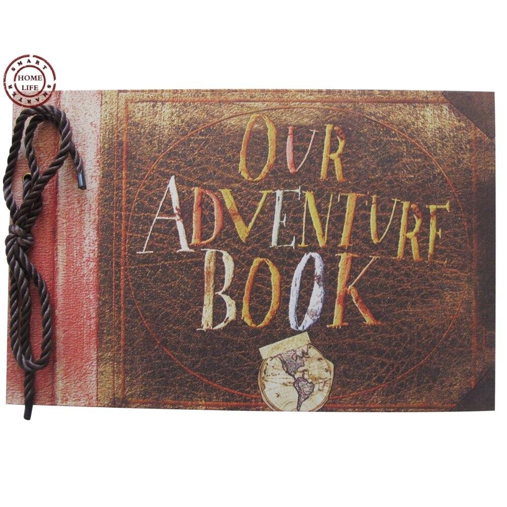 Our Adventure Book My Pixar UP Movie Scrapbook DIY Wedding Photo Album Anniversary Gifts In Albums From Home Garden On