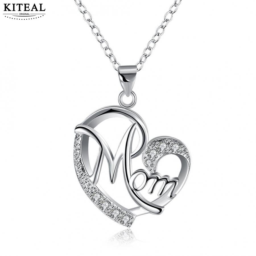 Best buy ) }}Top qualitly Love Mom Gift Great Mama Heart