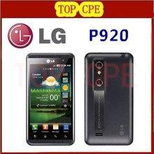 P920 LG Optimus 3D original unlocked GSM 3G WIFI GPS dual 5MP Dual-core P920 3D phone dropshipping Refurbished
