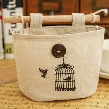 Hanging Storage Bags Novelty Bedside Organizer Pocket Bed Hanging Bag Phone Holder Book Magazine Table Storage Pouch(China)