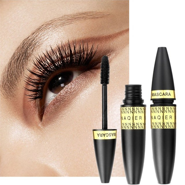 030f585f871 Eyes Japanese Cosmetics Makeup 3D Fiber Lashes Mascara Black Thick  Waterproof Curling