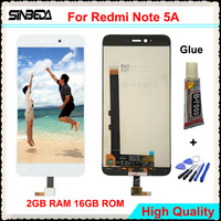 Sinbeda 1280x720 5 5 LCD Display For Xiaomi Redmi Note 5A 2GB Digitizer Touch Screen Assembly