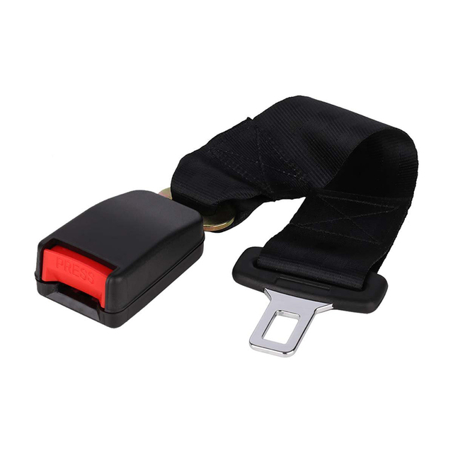 US $4 24 15% OFF|Universal 36cm Adjustable Car Auto Safety Seat Belt Clip  Seatbelt Extension Extender Strap Buckle For Pregnant Women-in Seat Belts &