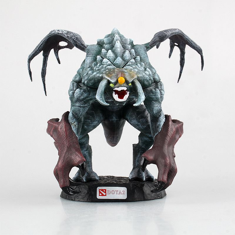 12cm Dota 2 Game Roshan Character PVC Action Figures Collection dota2 Toys wow all styles dota 2 game figure kunkka lina pudge queen tidehunter cm fv pvc action figures collection dota2 toys