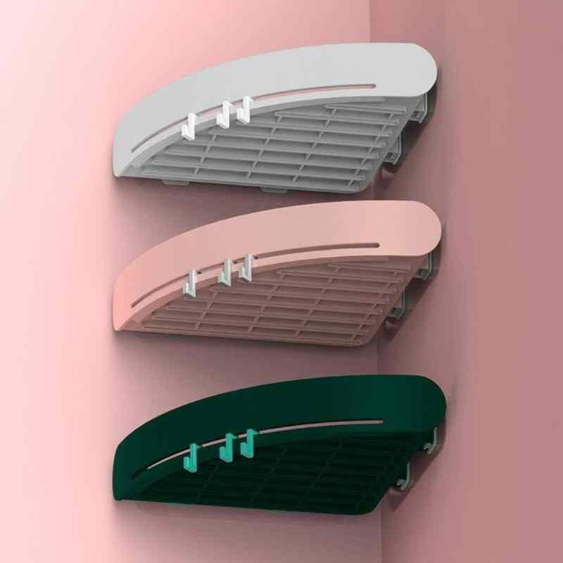 الحمام الجرف دش صابون شامبو مثلث حامل أرفف منظم أدوات التجميل تخزين الرف الزاوية رف دش اكسسوارات الحمام