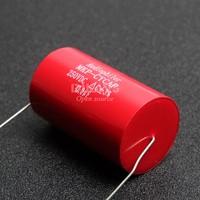 1Pcs Audiophiler Axial MKP 47uF 250v DC HIFI DIY Audio Grade Capacitor For Tube Guitar Amps