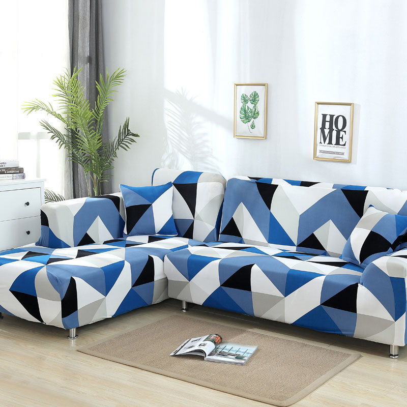 sofa cover elastic couch cover sectional chair cover It needs order 2pieces sofa cover if your