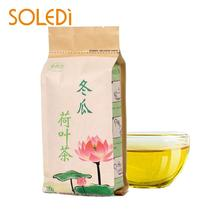 Flower Lotus Leaf Tea Bag Chinese Bottle Tea Beautyamphealth Slightly Bitter Winter Melon Kitchenamphome