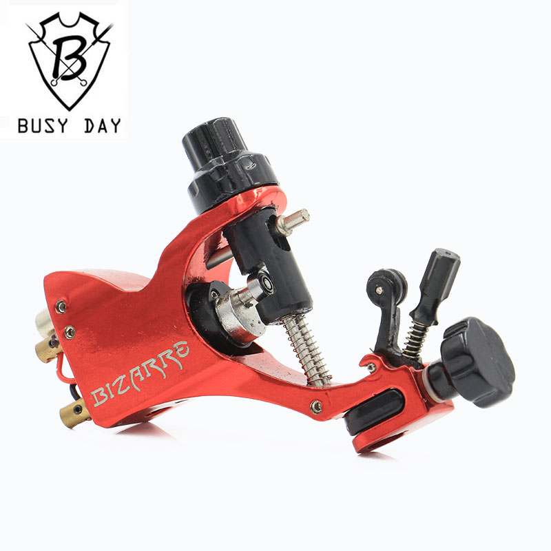 Hot Sale Toppkvalitet Microblading Pen Permanent Makeup Machine Pro Roterende Tattoo Machine Gun Stigma Bizarre V2 Red Color
