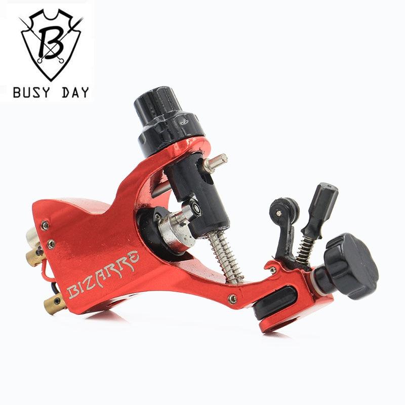 Pro Rotary Tattoo Machine Gun Stigma Bizarre V2 Red Color Top Quality