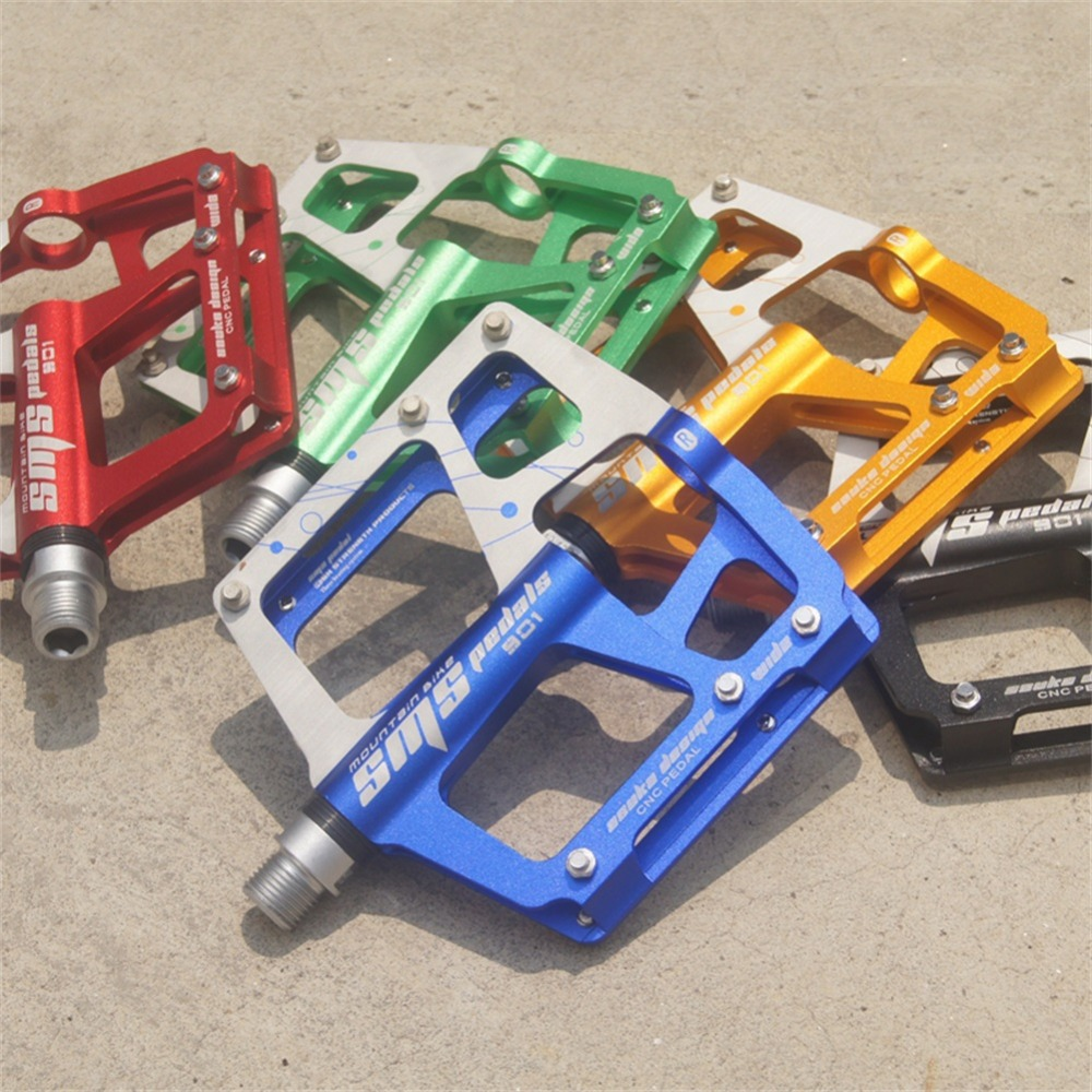 New 3 Bearings Big Foot Bike Pedals Mountain Bike MTB Bicycle Pedal Road Bike Pedals JT32 стоимость