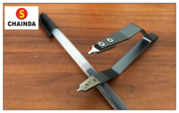Free Shipping 1pc Stainless Steel 7825 Spring Bar Tweezers for Watch Repair