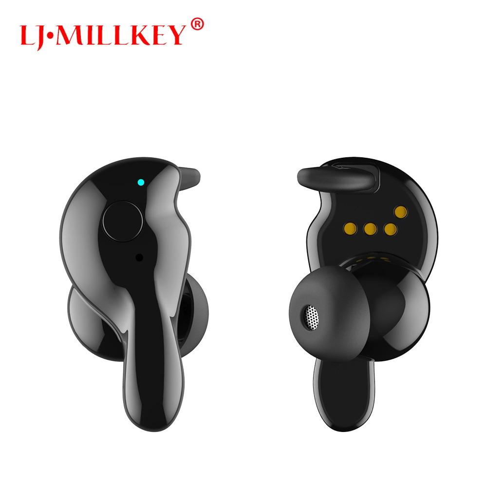 TWS 5.0 Bluetooth Earphone True Wireless Stereo Earbud Waterproof Bluetooth Headset for Phoe HD Communication LJ-MILLKEY YZ208 цена