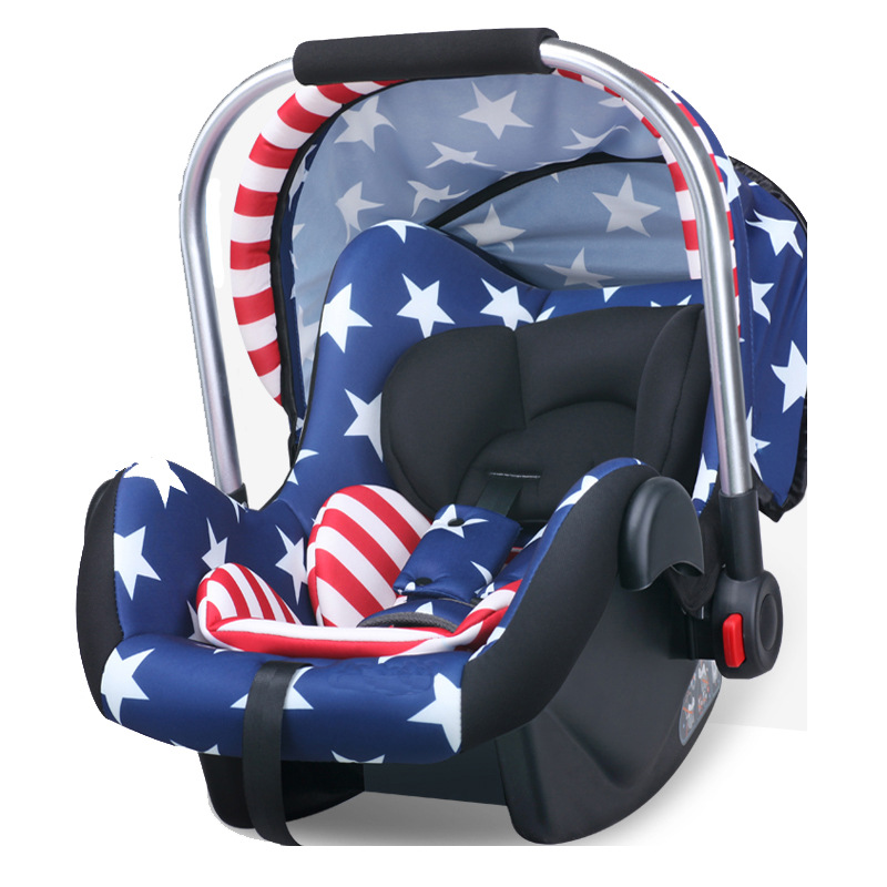 0 15 Month baby car mounted basket portable safety baby car seat cradle hand basket auto chair seat infant protect seat