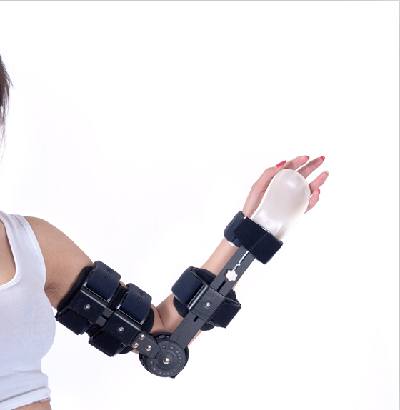Free Shipping Single Wheel Adjustable Elbow Orthosis Arm Brace Moilizer Elbow-joint Movement Arm Orthosis Elbow Support Factory factory direct sale hinge elbow brace arm support medical orthopedic orthotics supports