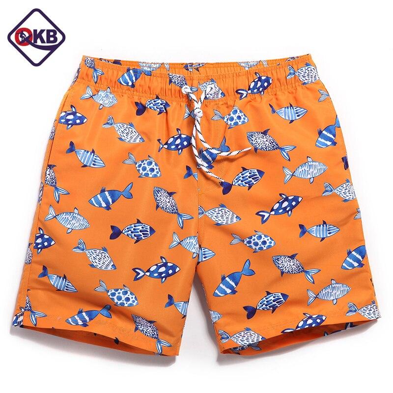 QIKERBONG   Board     shorts   men beachwear mens boardshorts geometry trunks   shorts   joggers bathing
