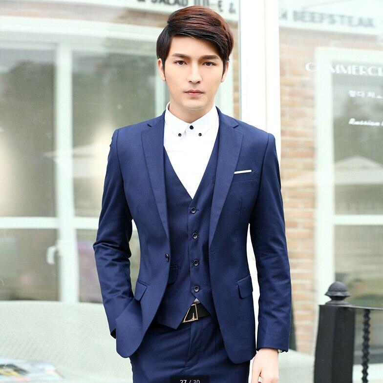 Best man groom wedding dress in the summer of men\'s suit ...